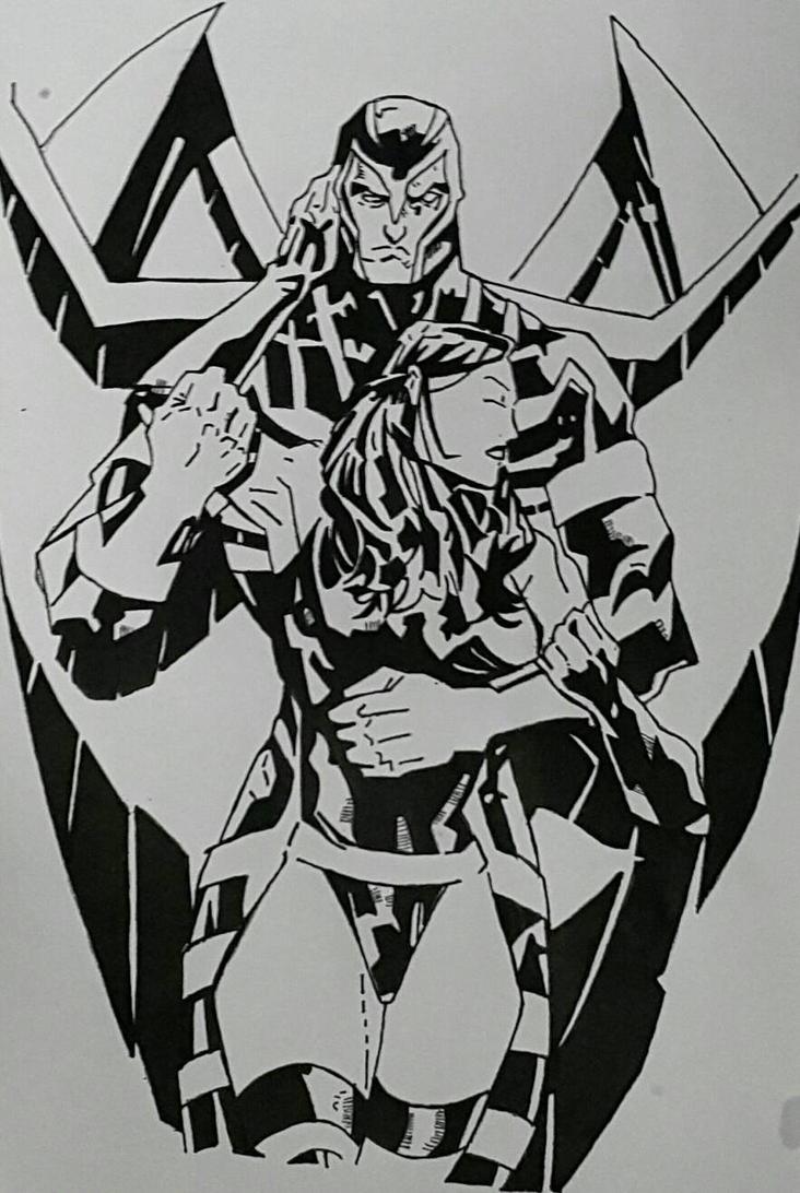 archangel  psylocke by Rickstar316