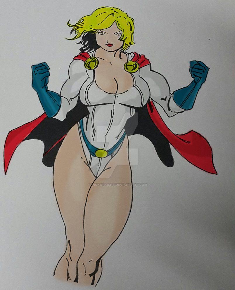 Powergirl 2 by Rickstar316