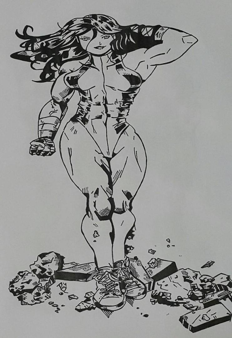 she hulk 2 by Rickstar316