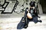 Darth Vader in latex