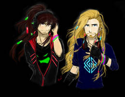 Fili and Kili Rave!AU
