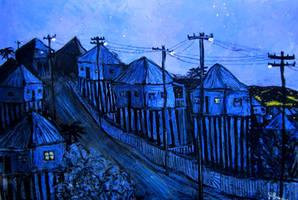 brisbane stilt houses by glenox66
