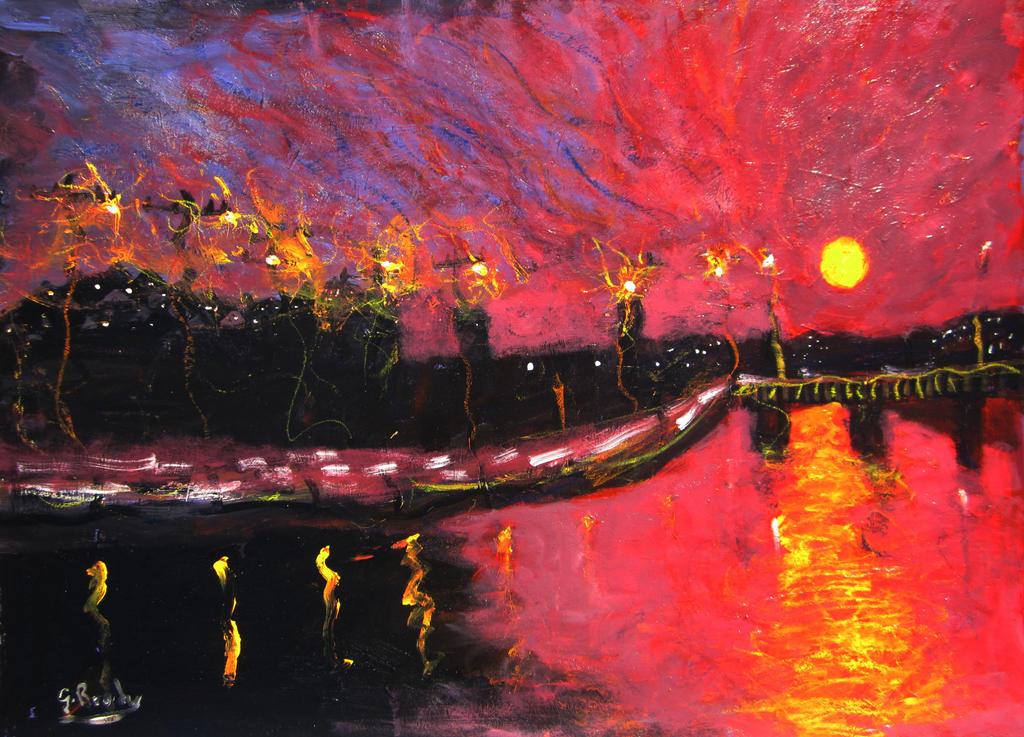 blazing sun by glenox66