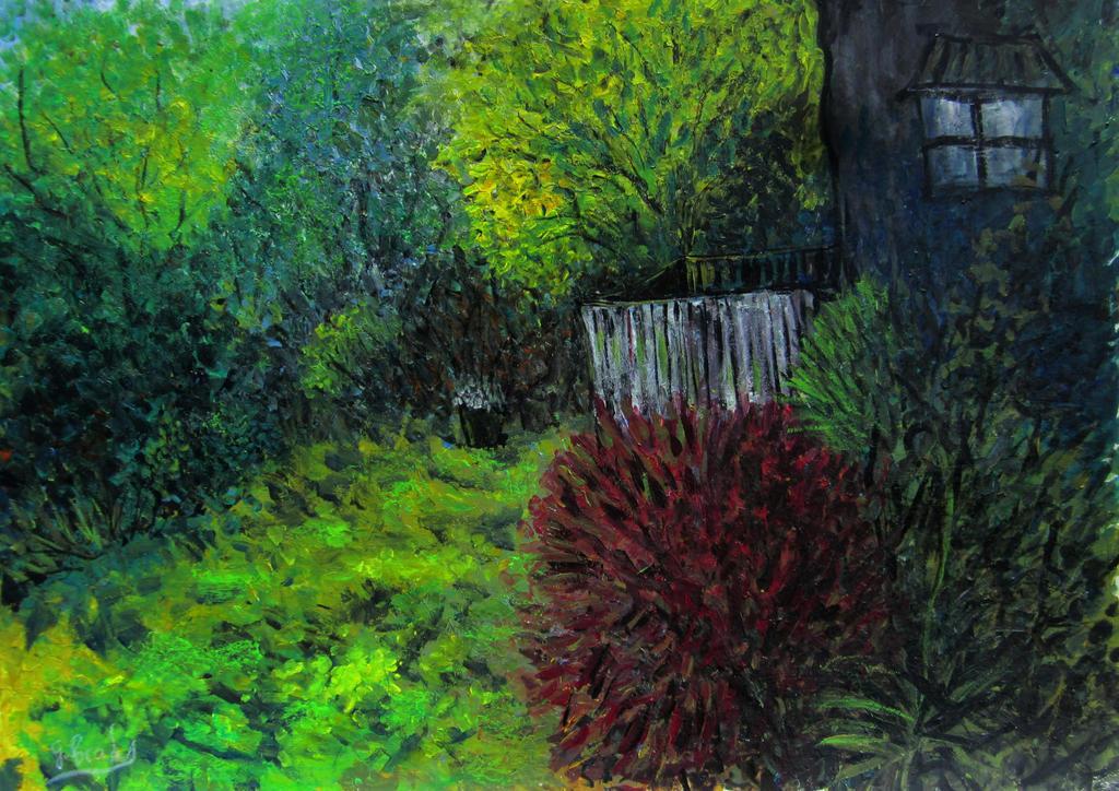 backyard shade by glenox66
