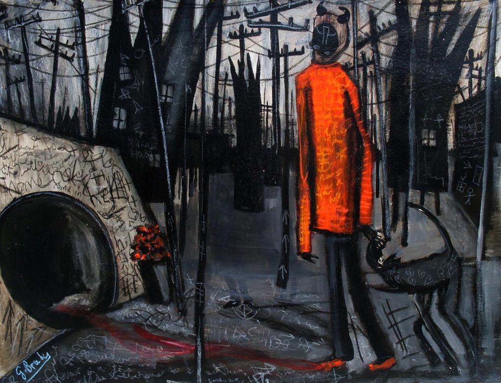 sewer demon by glenox66
