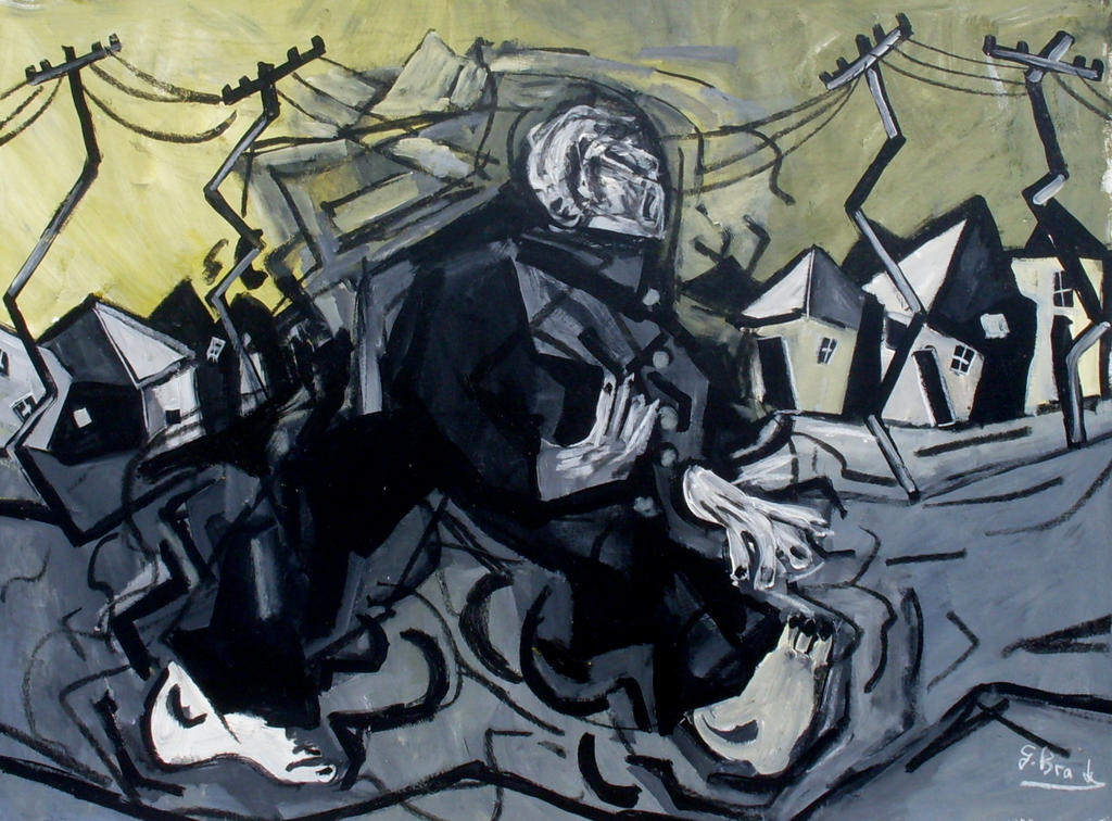 anxious man by glenox66