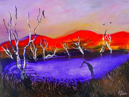 Red Hills Over Purple Creek..90cmx70cm.jpg222 by glenox66