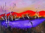 Red Hills Over Purple Creek..90cmx70cm.jpg222