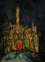 'madmans Church' 70cmx90cm1 by glenox66