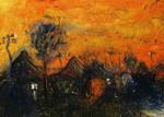 'golden Sunset'  103cmx76cm