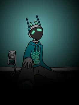 Plug (Character by https://beesgav.tumblr.com/)
