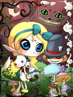 Alice in Wonderland by sashkaos