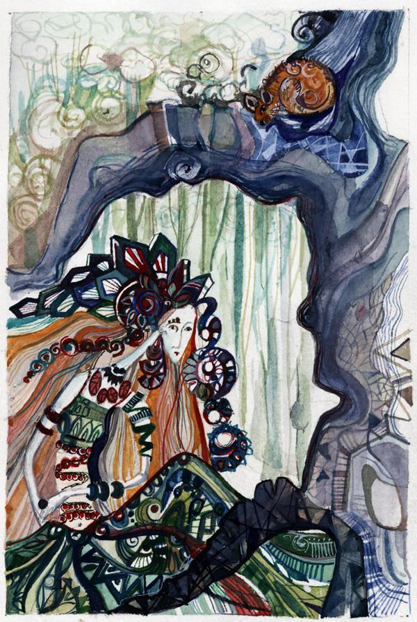 Witch by Ksenia-Ohanova