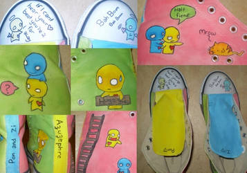 Pon and Zi Sneakers by Atypic