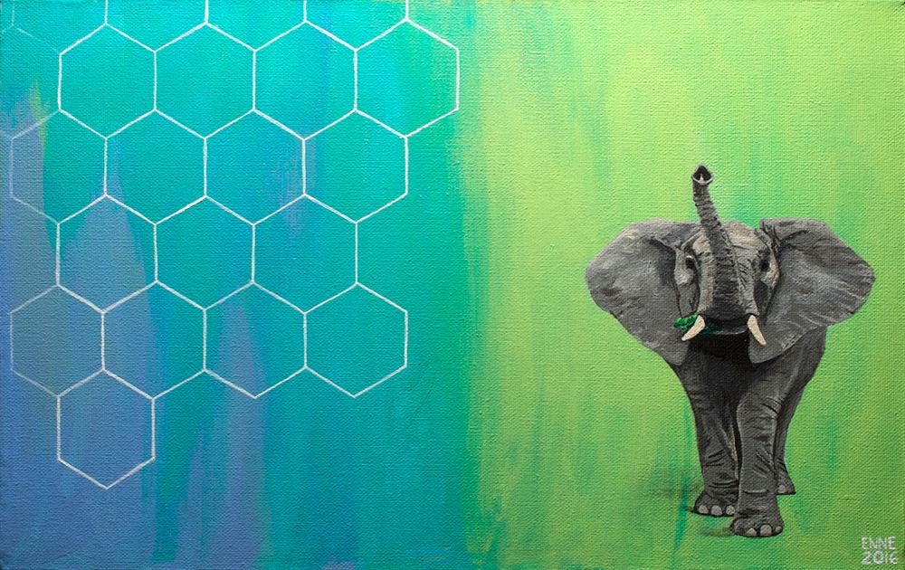 Elephant by Palindr0mic