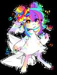 rainbow candy fish !!