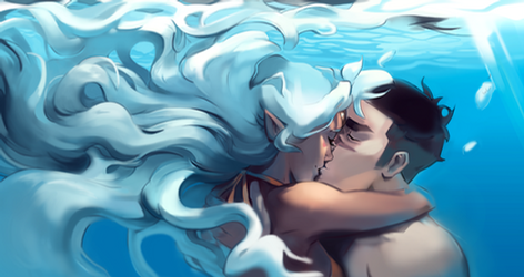 Underwater Kisses by Taracel
