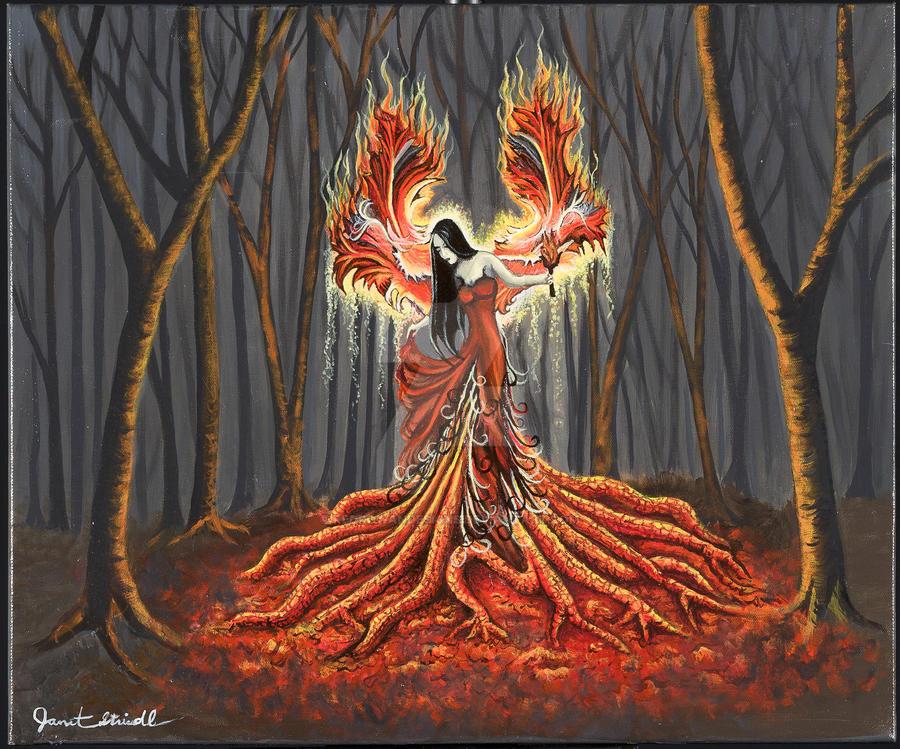The Phoenix by RedRowanDesigns