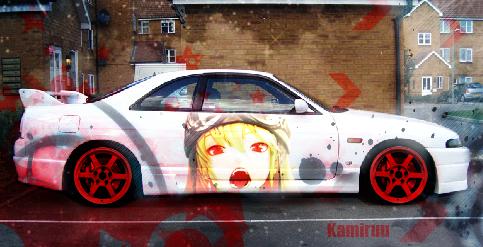 Vampire Car by K4m3l0r7