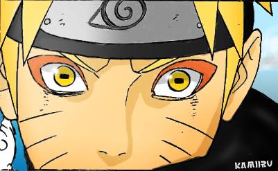 Naruto Sage by K4m3l0r7