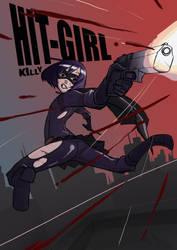 Kick-Ass FanArt HIT-GIRL by killy3time
