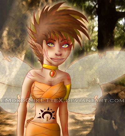 The Warrior Faery Princess by eMoxdOrkETteX