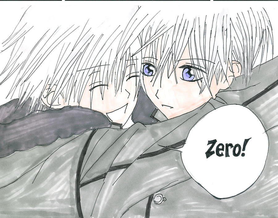zero and ichiru by evarose271