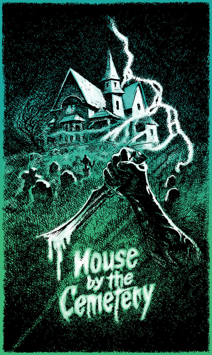 House by the Cemetery (color version) by MattMcEver on DeviantArt