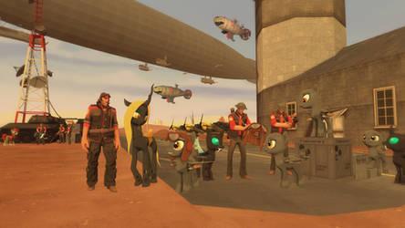 The Airfield by Captain-Latrios