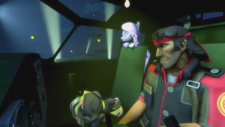 (SFM) Night Flight by Captain-Latrios