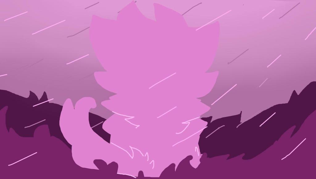 Raining Pink by DoodleyWoof