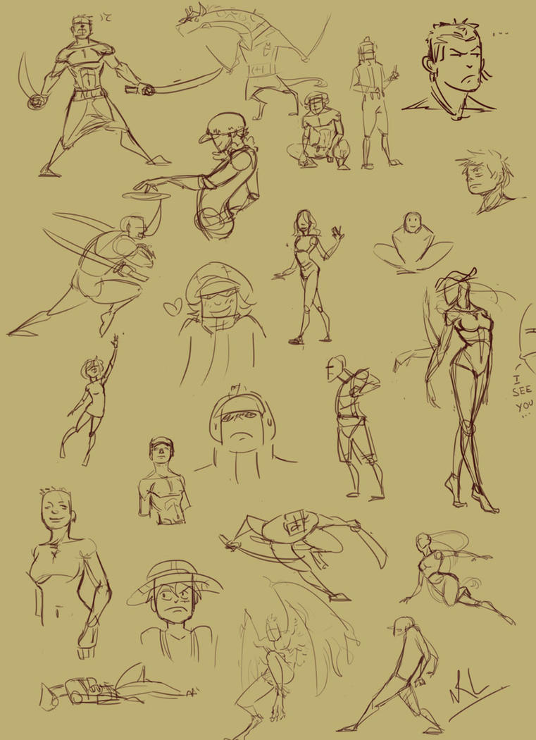 OP: sketches 02 by ChocOlive-Flamous