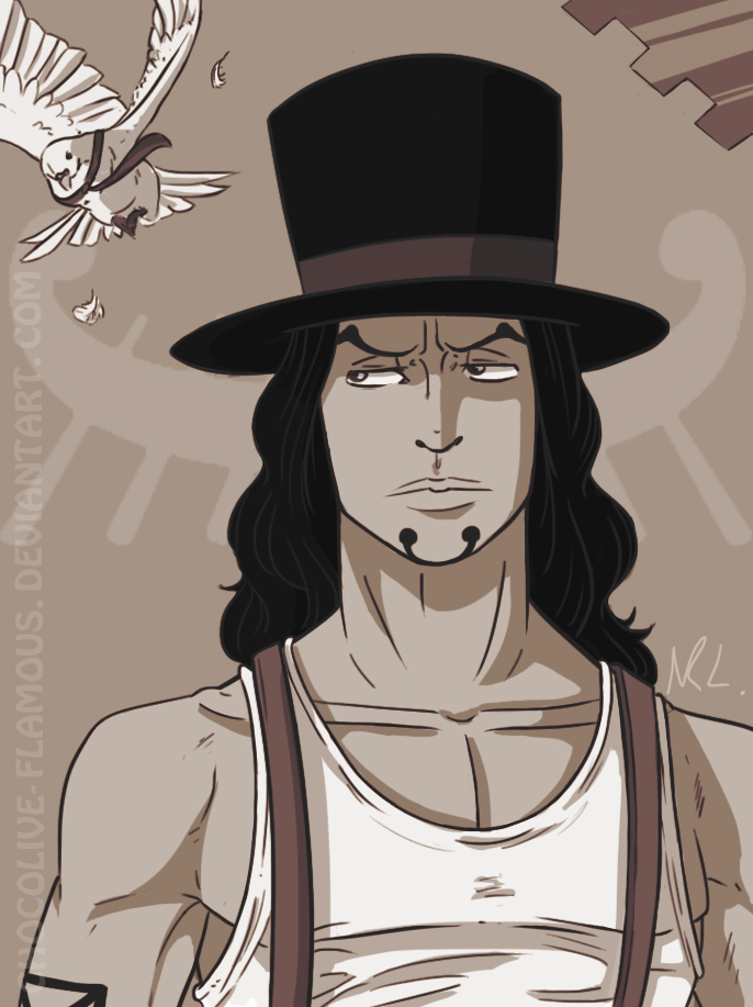 OP: Rob Lucci by ChocOlive-Flamous