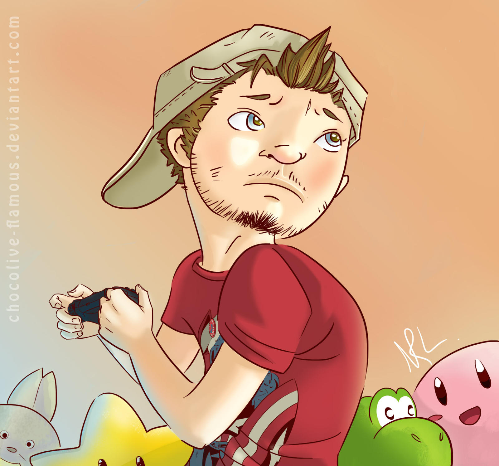 SLG: le Geek by ChocOlive-Flamous