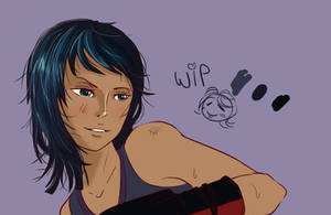 OP : Boxing - WIP by ChocOlive-Flamous