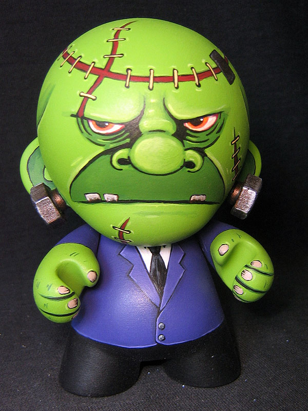 Green Frankenmunny by ReverendBonobo