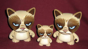 Grumpy Cat Trikky Trio by ReverendBonobo