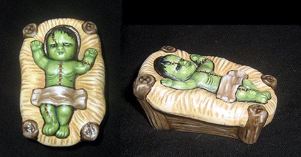 Baby Jesus Frankenstein by ReverendBonobo