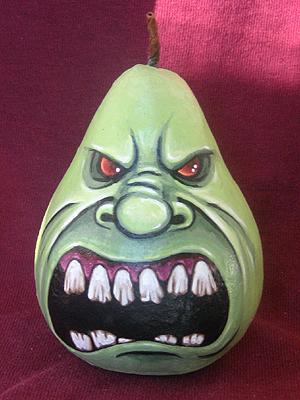 Angry Pear by ReverendBonobo