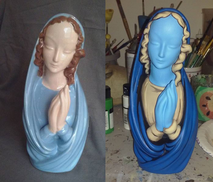 Mary Repaint WIP by ReverendBonobo