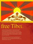 Free Tibet by brun