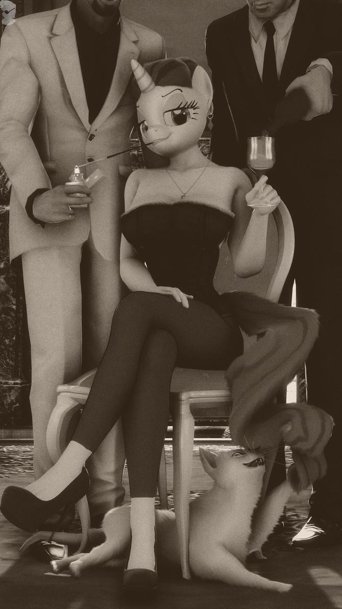 Mistress Rarity by GBrushAndPaint
