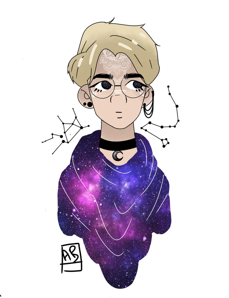 Astronomy Witch! Sehun by MoonBallo0on