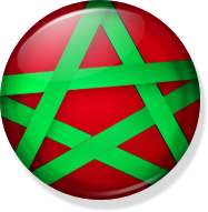 Morocco Button by Aminebjd