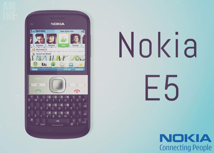 Nokia E5 Wallpaper - ??????: Amine Bjd