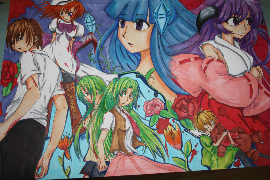 Higurashi No Naku Koro Ni ~ by BarrowmanFan