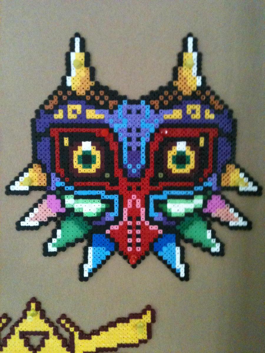 Zelda:Majora's Mask Perler/Hama/Fuse Bead -SALE- by BarrowmanFan