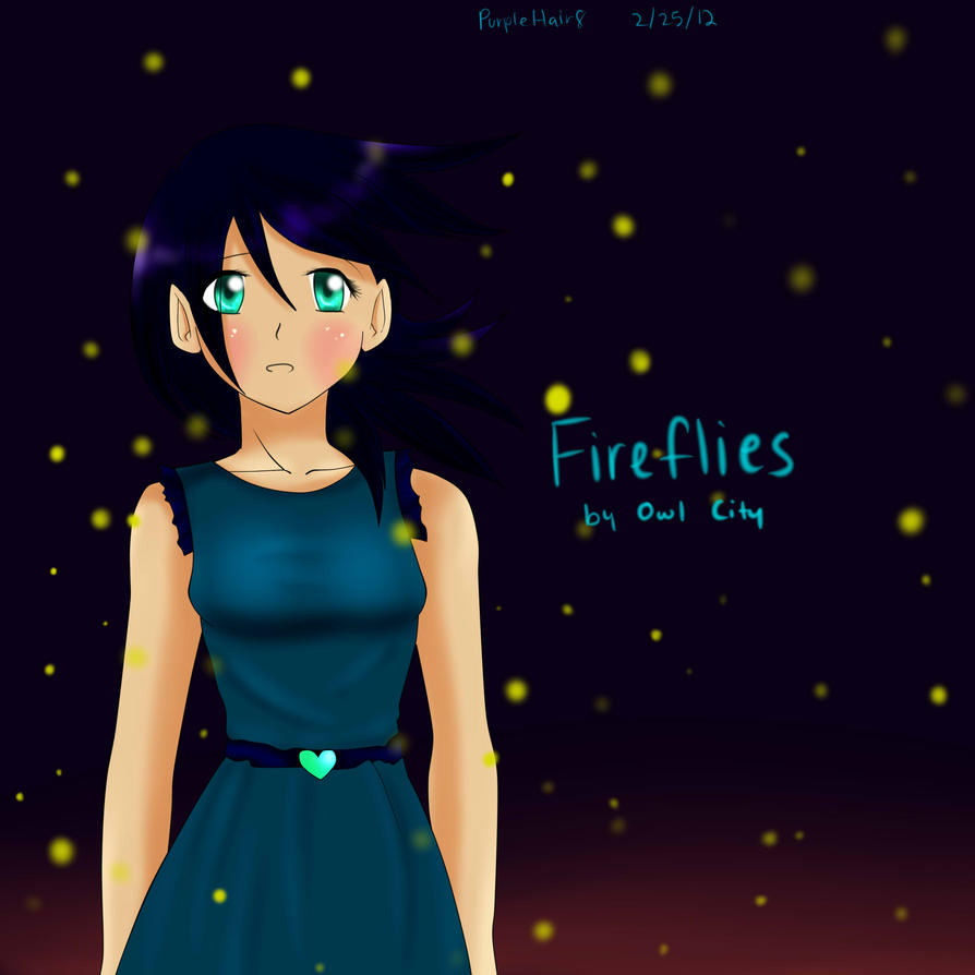 Fireflies by Owl City by PurpleHair8 on DeviantArt for Fireflies In A Jar Owl City  51ane