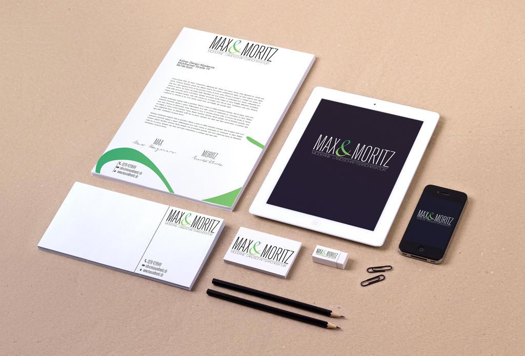 Max und Moritz Corporate Design by Sebyy