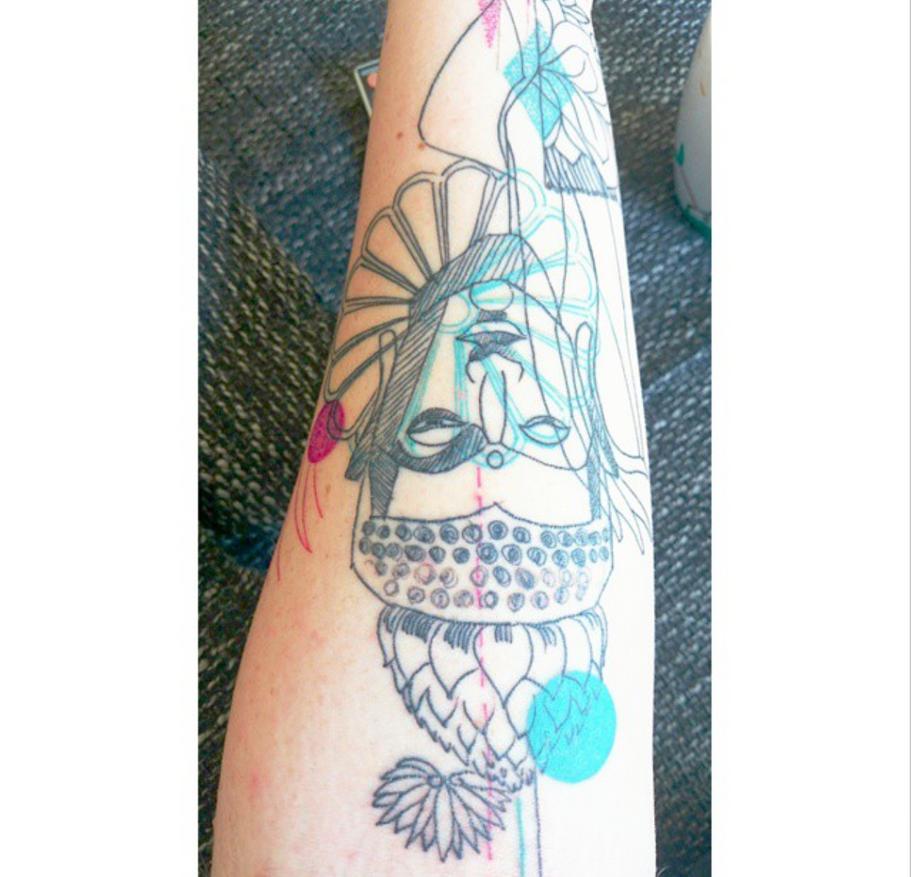 Buddha Tattoo #2 by Sebyy